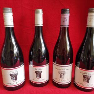 Villa Blanche - Weinkiste Rotweine